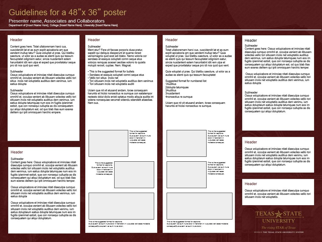 research posters template