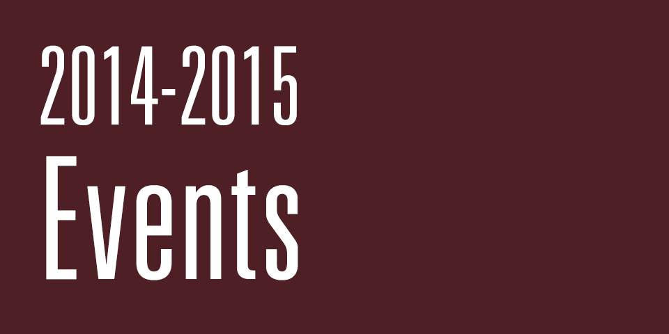 2014-2015 Texas State University Common Experience Events